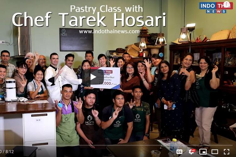 Pastry Class with Chef Tarek Hosari
