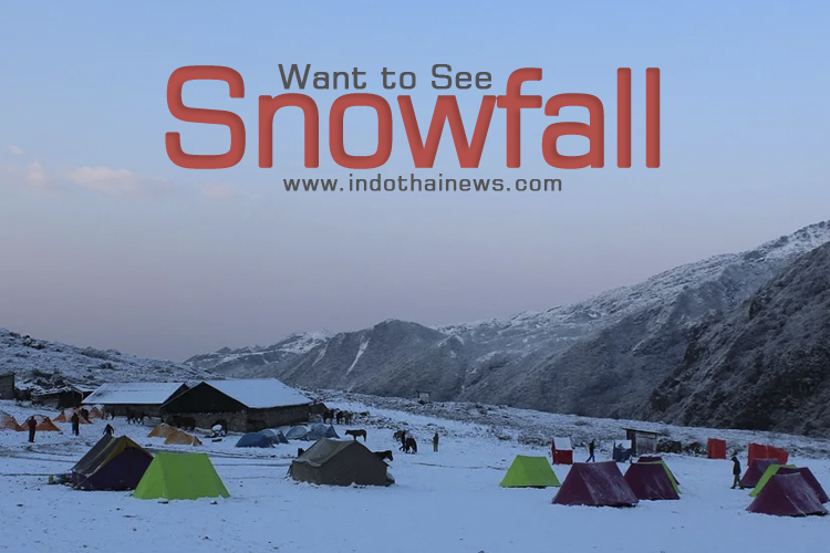 Snowfall – Top 5 Places in India