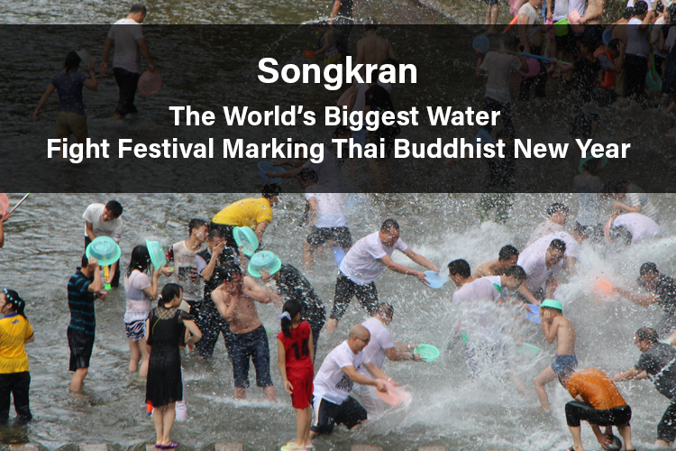 The World's Biggest Water Fight Festival Marking Thai Buddhist New Year