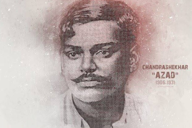 Great Indian Revolutionary Chandra Shekhar Azad's 113th Birth Anniversary