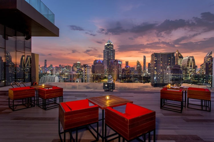 RedSquare Rooftop Bar: Bangkok's Absolute Best Place To Be On A Friday Night