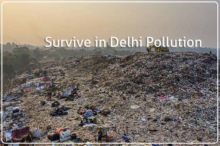 Pro tips to survive in Delhi Pollution