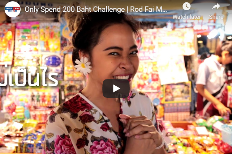 Only Spend 200 Baht Challenge